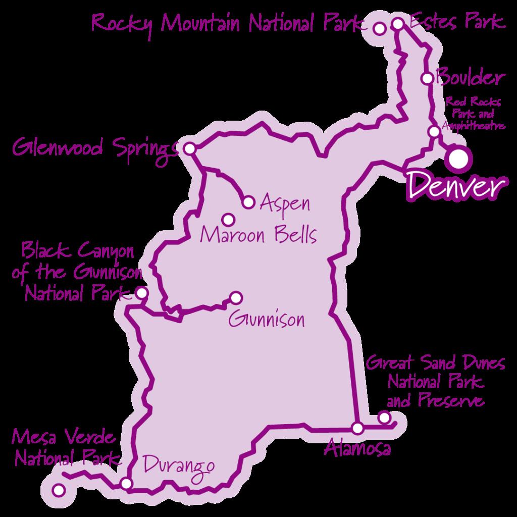 ロッキー山脈とコロラド登山列車の旅