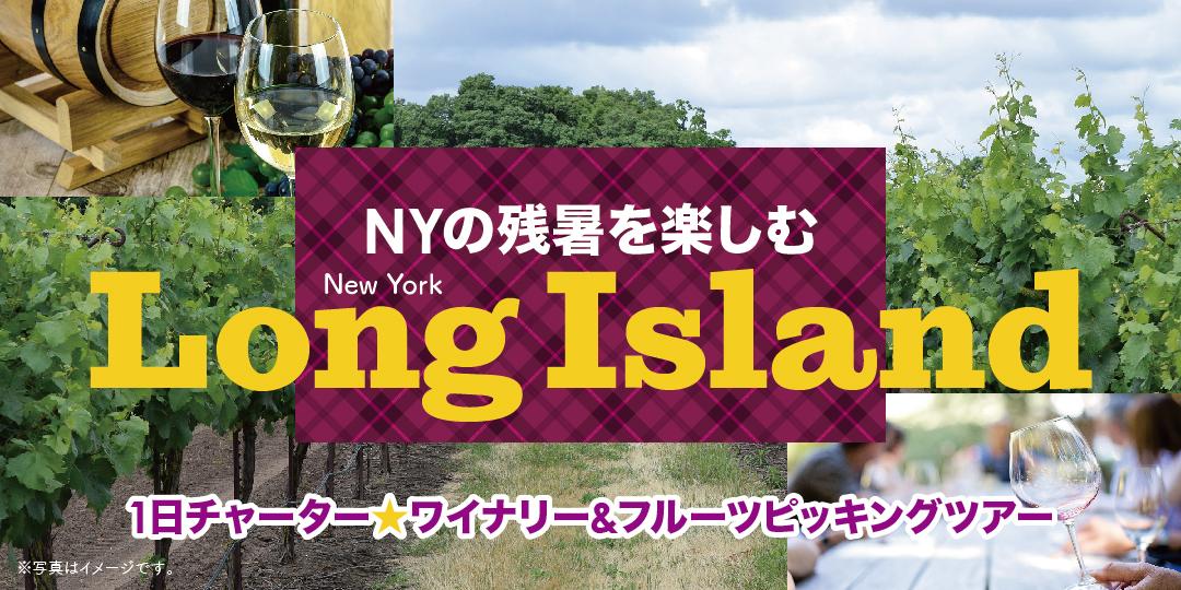 Long Islandワイナリー+フルーツピッキング1日チャーターツアー