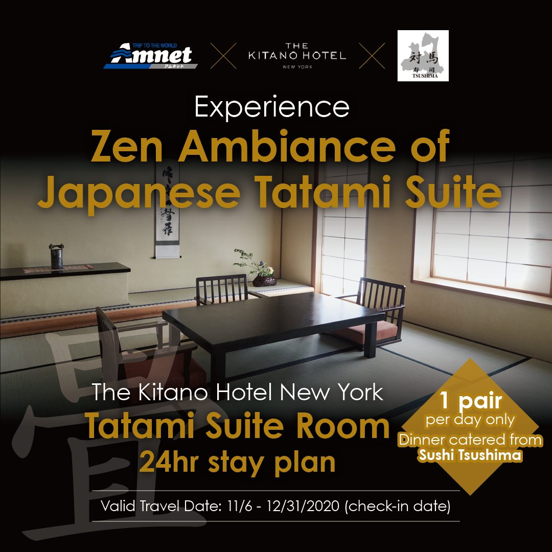 Experience Zen Ambiance of Japanese Tatami Suite in Manhattan NY